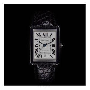 a cartier tank solo xl wrist watch by biaoist